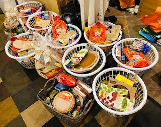 11 baskets donated to Friendly Center Turkey Drive